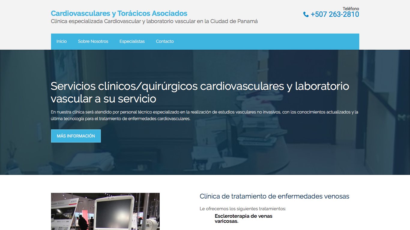 Clínica Cardiovasculares y Torácicos Asociados