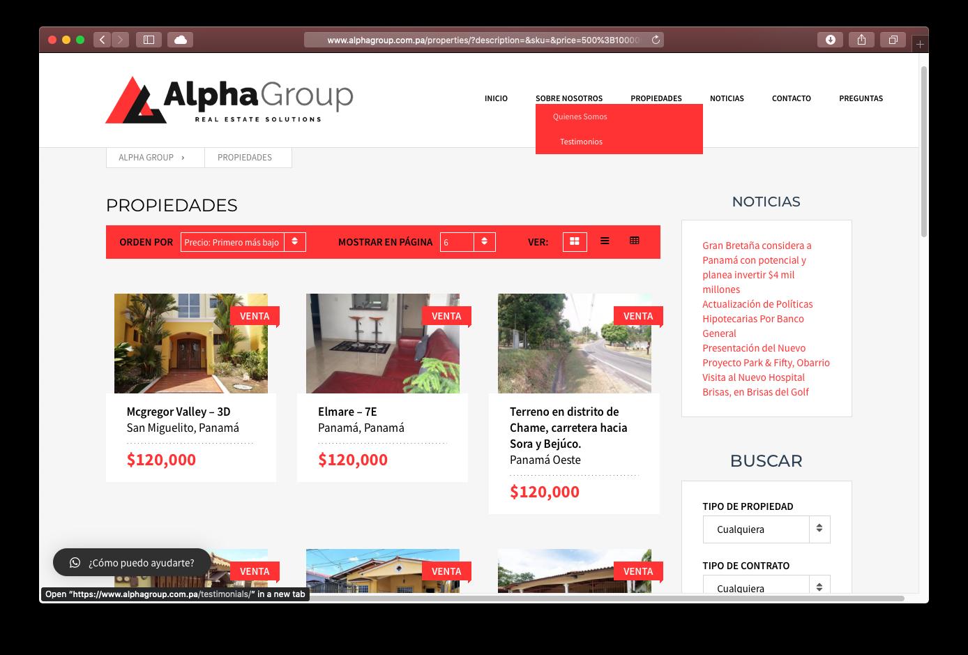 Sitio Web, CRM y Publicidad Online