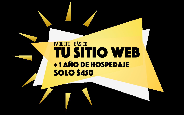 Paquetes Tu Sitio Web