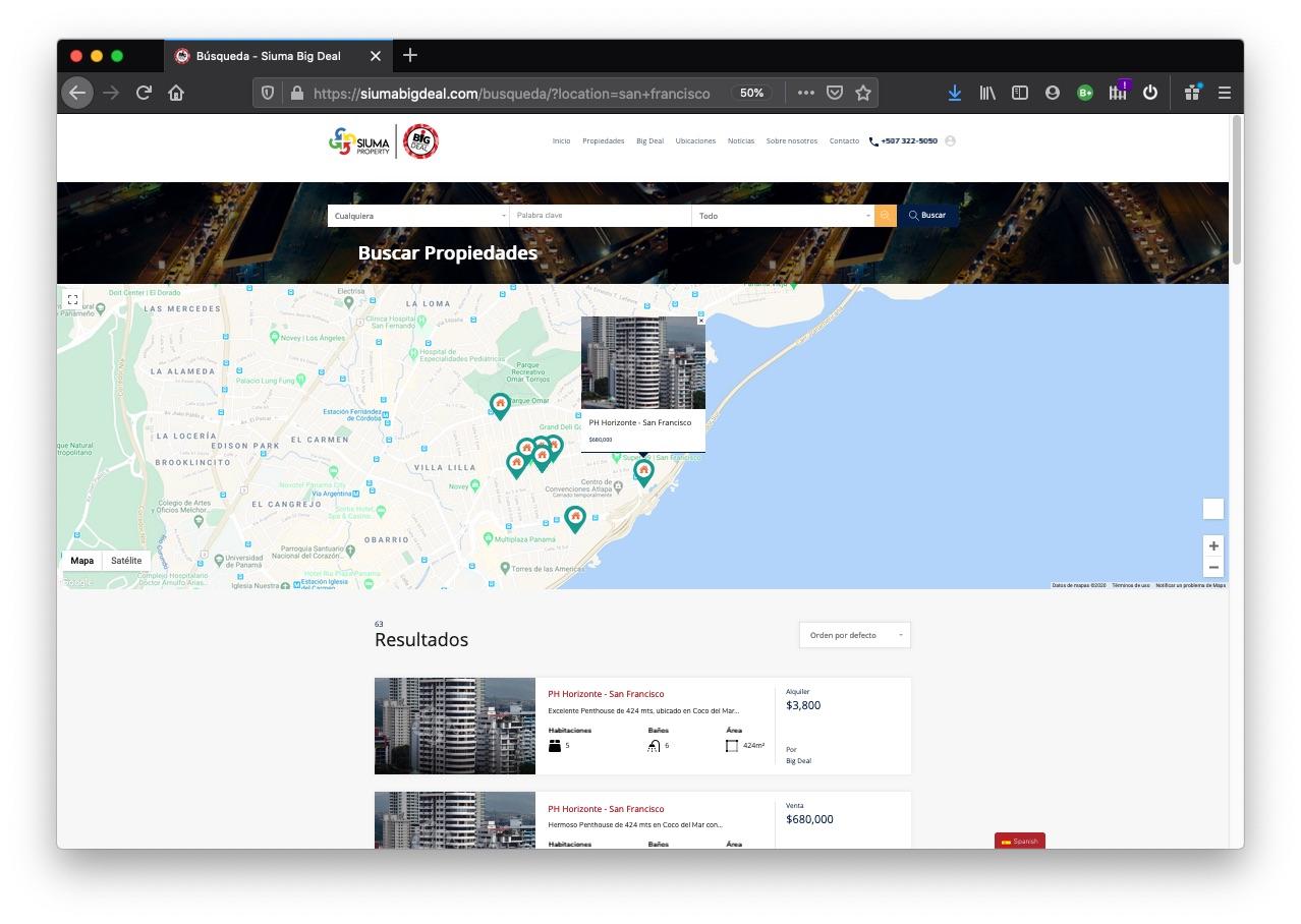 Integraciones Web con Catálogo y CRM Salesforce